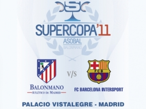 Balonmano Atletico de Madrid vs FC Barcelona Intersport